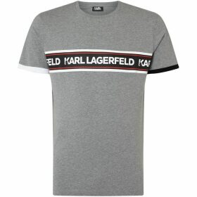 Karl Lagerfeld Block Strip Logo SS T-shirt