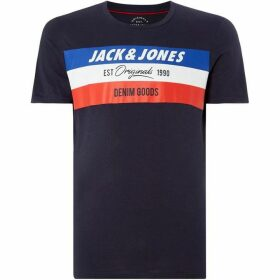 Jack and Jones Shakedowns Logo T-Shirt