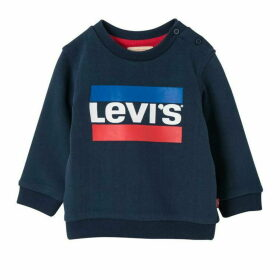 Levis Dark Blue Baby Boy Sweat Shirt