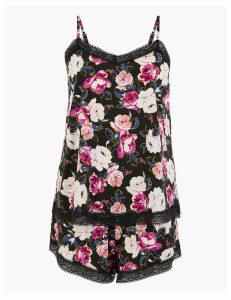 M&S Collection Vintage Bloom Lace Camisole Set