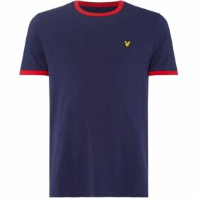 Lyle and Scott Ringer Crew Neck T-Shirt