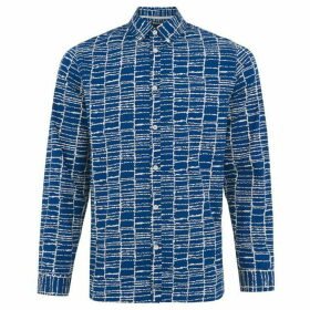 Whistles Dot Grid Print Shirt