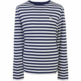 Pretty Green Long Sleeve Striped T-Shirt