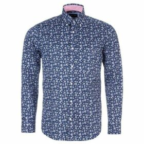Eden Park Floral Print Shirt With Chest Pocket