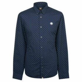 Pretty Green Slim Fit Polka Dot Shirt