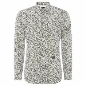 Diesel Long Sleeve Thorn Print Shirt