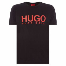 Hugo Dolive large logo t-shirt