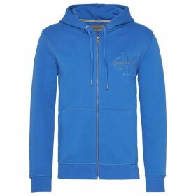 Calvin Klein Jeans Hasto Slim Fit Zip Through Cotton Hoodie
