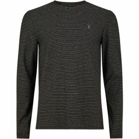 All Saints Suburb Long Sleeve Crew Neck T-Shirt