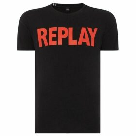 Replay Solid Cotton Jersey T-Shirt