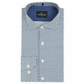 Simon Carter Ships Print Shirt