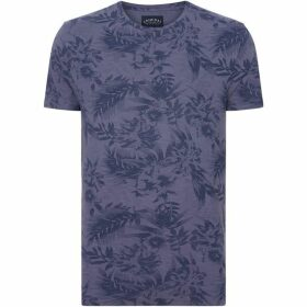 Criminal Marine Floral All Over Print T-Shirt