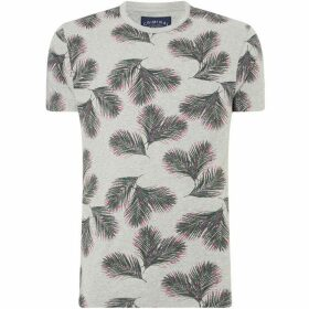 Criminal Island Palm Print T-Shirt