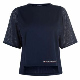 Tommy Sport Mesh Top Ld92