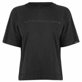 Napapijri Tribe Sait Cropped T Shirt
