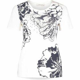 Betty Barclay Floral Print T-Shirt