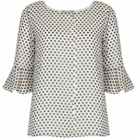 Havren Frida Vintage Polka Dot Top