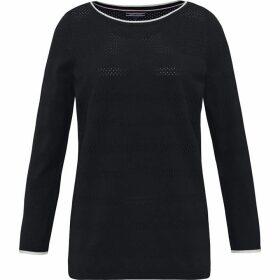 Tommy Hilfiger Ivy Openwork Boat Neck Sweater