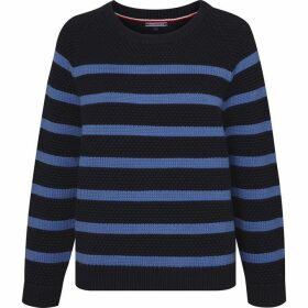 Tommy Hilfiger Roxanne Texture Stripe Sweater