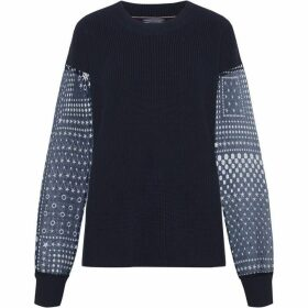 Tommy Hilfiger Reese Fabric Mix Sweater