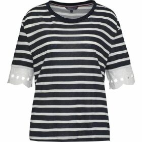 Tommy Hilfiger Abner Lace Sleeve Top