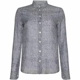 Gant Long Sleeve Light Weight Confetti Print Shirt