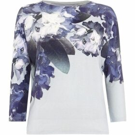 Phase Eight Davina Floral Print Top
