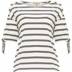 Phase Eight Scout Textured Stripe Top