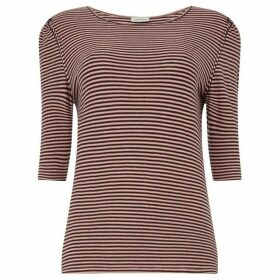 Marella Stripe jersey top