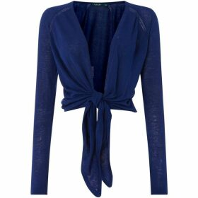 Lauren by Ralph Lauren Nalani tied front sweater