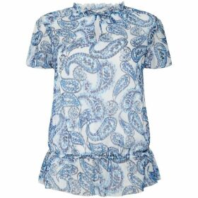 Lauren by Ralph Lauren Danamarie paisley shirt