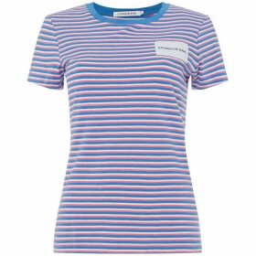 Calvin Klein Jeans Striped Slim Fit Tee