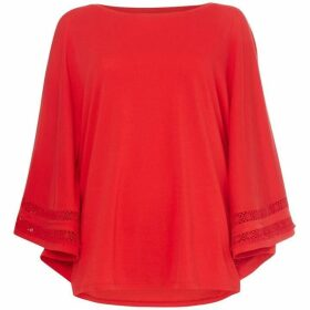 Lauren by Ralph Lauren Miafar bell-sleeve top