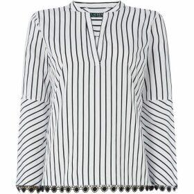 Lauren by Ralph Lauren Drezyne smock shirt