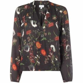 Linea Gabi winter bloom top