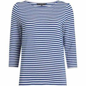 Vero Moda Jany Sonia Mid Sleeve Striped Boat Neck Top