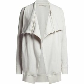 All Saints Mila Dahlia Sweatshirt Cardigan