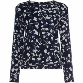 Gant Printed Crew Neck Sweater
