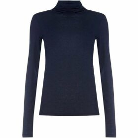 Gant Roll Neck Long Sleeve Top