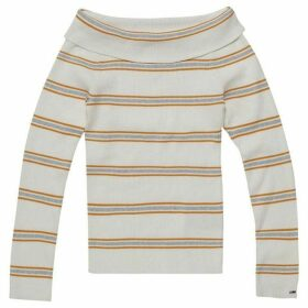 Tommy Jeans Off Shoulder Rib Sweater