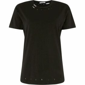 Replay T-Shirt With Rips