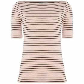 Lauren by Ralph Lauren Judy striped knit top