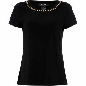 DKNY Casual sequin top