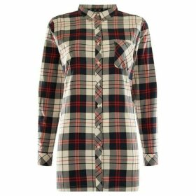 Barbour Lifestyle Sandbank Tunic Fit Checked Shirt