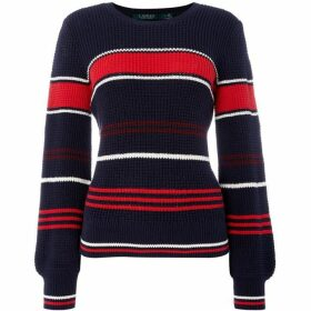Lauren by Ralph Lauren Parmida striped sweater