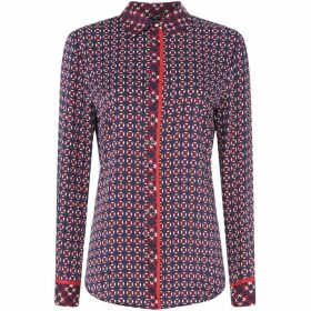 Lauren by Ralph Lauren Pyralis geometric shirt