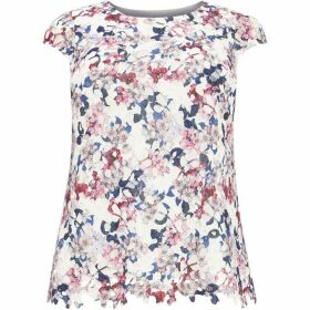 Studio 8 Sunny Printed Lace Top