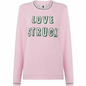 Blake Seven Pink Love Struck Sweater