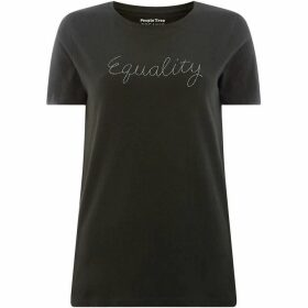 People Tree Equality Embroidered Tee