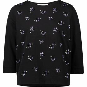 Betty Barclay Embellished Sweat Top